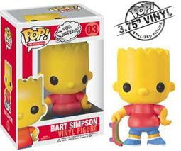 "The Simpsons - Bart Simpson 3.75"" Vinyl Figure"
