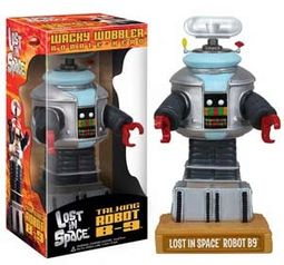 Lost in Space - Talking B-9 Robot Wacky Wobbler