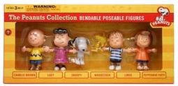 Peanuts - Peanuts Gang Bendable Figures Box Set