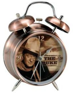 Duke - Twin Bell Alarm Clock