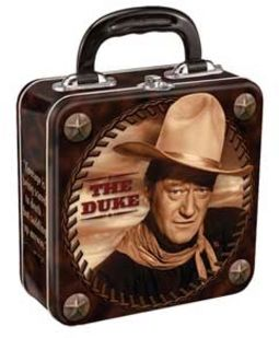 John Wayne - Duke - Square Tin Tote