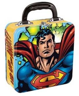DC Comics - Superman - Square Tin Tote