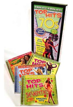 Top Hits of the 70s (4-CD Box Set)