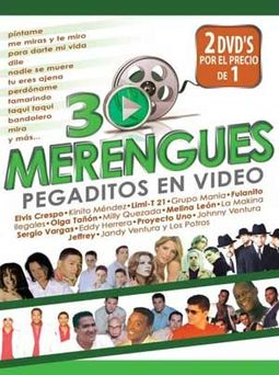 30 Merengues Pegaditas En Video (2-DVD)