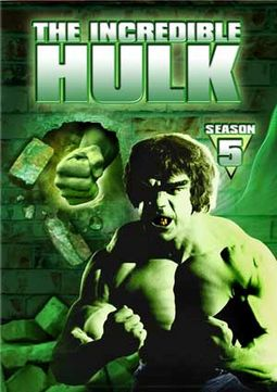 The Incredible Hulk - Season 5 (2-DVD)