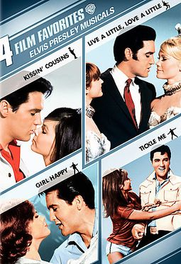 Elvis Presley Musicals: 4 Film Favorites (Kissin