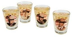 John Wayne - Duke - 4-Piece Shot Glass Set