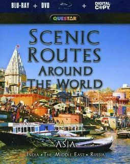 Scenic Routes Around the World - Asia (Blu-ray +