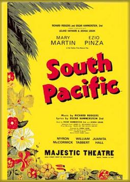 "South Pacific - Photo Magnet 2 1/2"" x 3 1/2"""