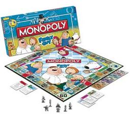 Family Guy - Monopoly Board Game