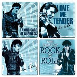 Elvis Presley - 4-Piece Coaster Set
