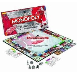 Hockey - Detroit Red Wings - Monopoly
