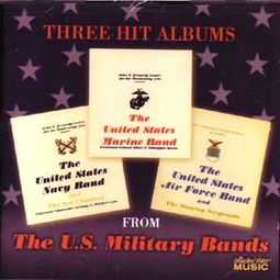 Marine Band, Navy Band & Air Force Band (2-CD)