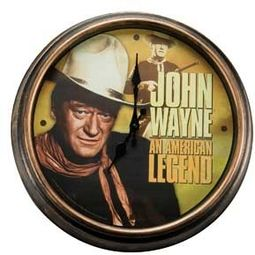 "John Wayne - 15.75"" Wall Clock"