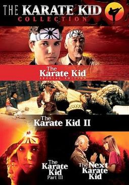Karate Kid Collection Box Set (3-DVD)