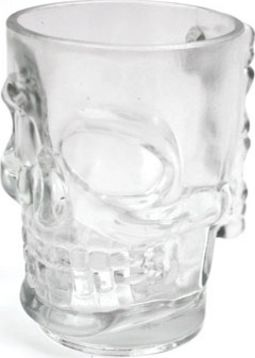 Skull - 16 oz. Glass Beer Stein