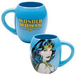 DC Comics - Wonder Woman - Blue 18 oz. Oval
