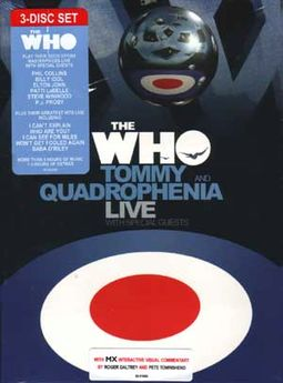 Tommy and Quadrophenia Live with Friends (3-DVD