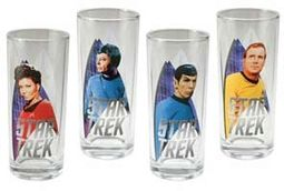 Star Trek - 4 Piece 10 oz. Glass Set