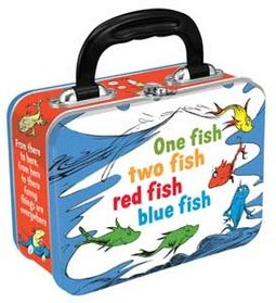 Dr. Seuss - One Fish, Two Fish - Small Tin Tote