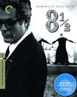 8 1/2 (Blu-ray, Criterion Collection)