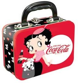 Betty Boop / Coke - Small Tin Tote