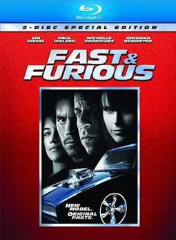 Fast & Furious (2-Disc Blu-ray)