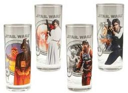 Star Wars - 4 Piece 10 oz. Glass Set