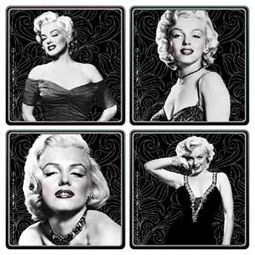 Marilyn Monroe - Set of 4 Wood Coasters