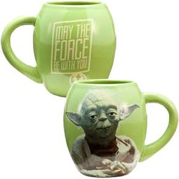 Yoda: 18 oz. Oval Ceramic Mug