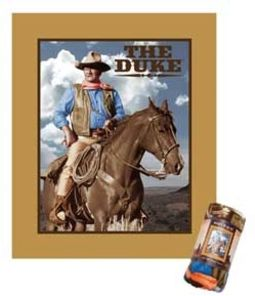John Wayne - Duke - Micro Fleece Throw Blanket