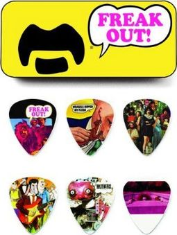 Frank Zappa Yellow Pick Tin - 6 Medium Picks