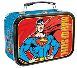 DC Comics - Superman - Extra Large Tin Tote