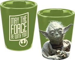 Yoda: Green Ceramic Shot Glass