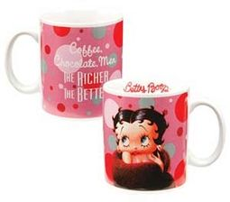 Betty Boop - Coffee Chocolate 12oz Mug
