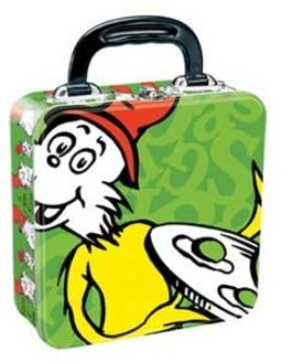 Dr. Seuss - Green Eggs & Ham - Square Tin Tote