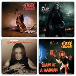Ozzy Osbourne - 4 Piece Coaster Set
