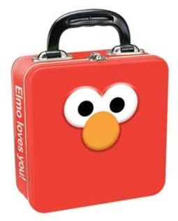 Elmo Square Tin Tote