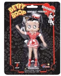 "Betty Boop - 5"" Bendable Figure: Waitress Outfit"