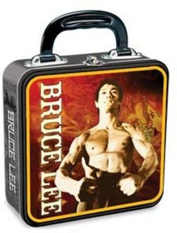 Bruce Lee - Square Tin Tote