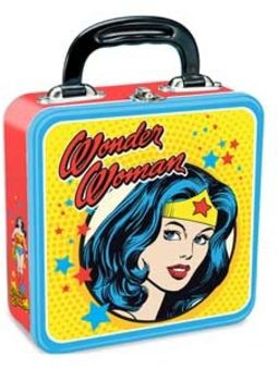 DC Comics - Wonder Woman - Square Tin Tote