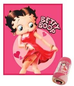 Betty Boop - Fleece Throw