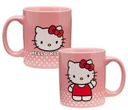 Hello Kitty - 12 oz. Pink Ceramic Mug