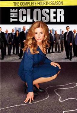 The Closer - Complete 4th Season (4-DVD)