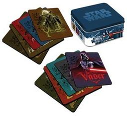 Star Wars - 10 Piece Coaster Set in Tin