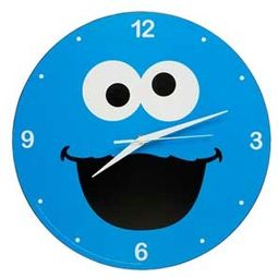 "Sesame Street - Cookie Monster 13.5"" Clock"