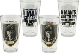 Duke - 4-Piece 16 oz. Glass set