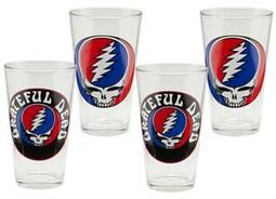 Grateful Dead - 4-Piece 16 oz. Pint Glass Set
