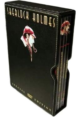 Sherlock Holmes Collection (4-DVD Leather Box Set)