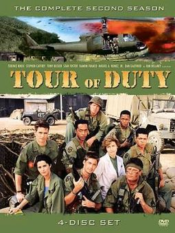Tour of Duty - Complete 2nd Season (4-DVD)
